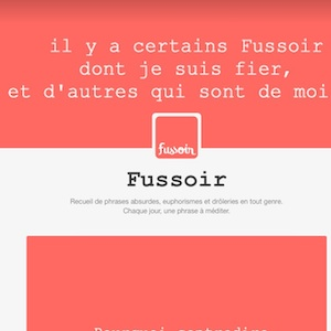 citation culte de fussoir -